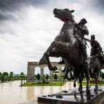 Памятник Дикой Дивизии в Назрани