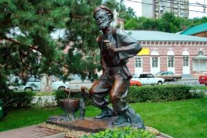 The embankment of Fedor Ushakov