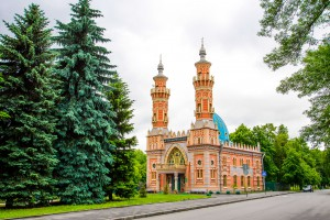 The mosque of Mukhtarov