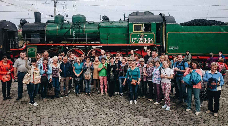 «Чайный Экспресс» прибыл на железнодорожный вокзал города Назрань (ingtourism.ru)