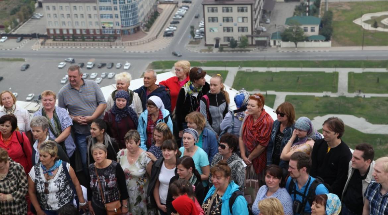 В Чеченской Республике побывал «Чайный экспресс» (ИА «Грозный-информ»)