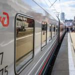 Поезд на Казанском Вокзале