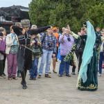 Встреча поезда в Назрани